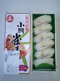 小鯛雀寿司(6個入)