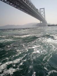 鳴門の渦潮の写真