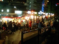 Hakata Nakasu Food-cart Street (Nakasu Haruyoshi Bridge)