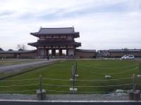 平城宮跡朱雀門の写真