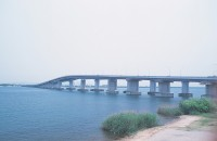 琵琶湖大橋の写真