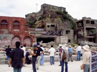 軍艦島(端島炭鉱)の写真
