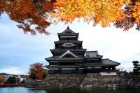 松本城の写真