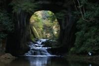 濃溝の滝(亀岩の洞窟)の写真