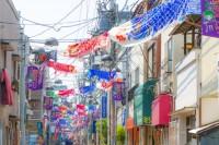 亀戸・下町こいのぼり祭りの写真