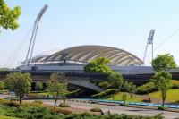 熊本県民総合運動公園陸上競技場(えがお健康スタジアム)