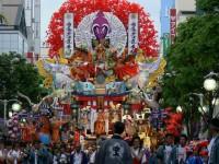 八戸三社大祭の写真