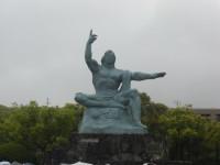 長崎平和記念公園・平和記念像