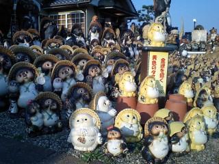 信楽陶苑たぬき村の写真