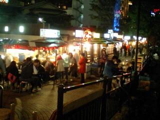 博多中洲屋台(中洲春吉橋)の写真