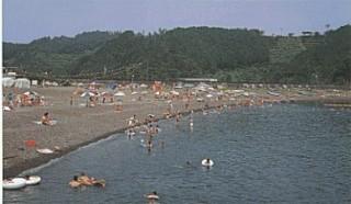 古里海水浴場の写真