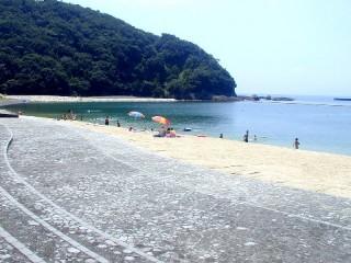 城ノ浜海水浴場の写真