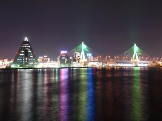 青森港の写真