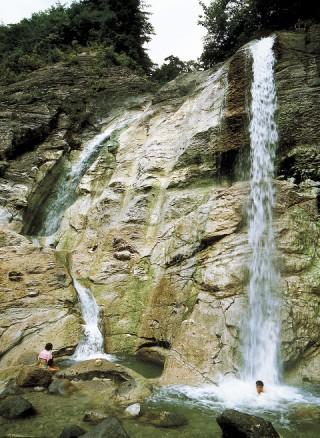 川原毛大湯滝の写真