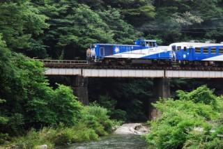 トロッコ列車 奥出雲おろち号の写真