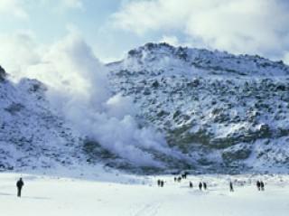 硫黄山の写真
