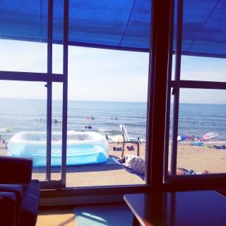 角田浜海水浴場の写真