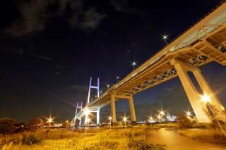 横浜ベイブリッジの写真