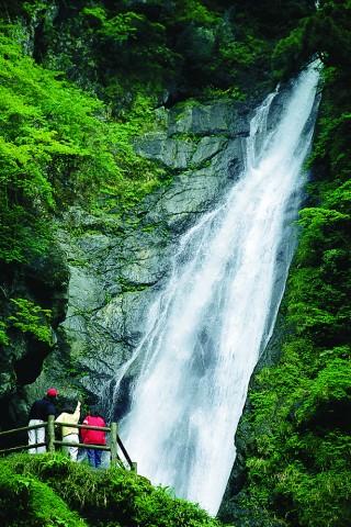 安倍の大滝の写真