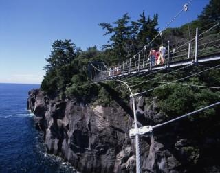 門脇吊橋の写真