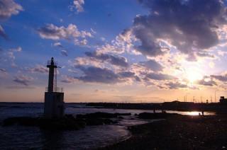 平太郎浜海水浴場の写真