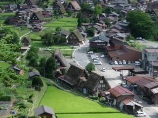 白川郷合掌造り集落の写真
