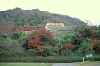 鳥取城跡の写真