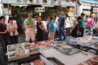 築地場外市場の写真
