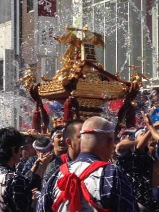深川八幡祭りの写真