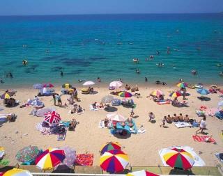 水晶浜海水浴場の写真