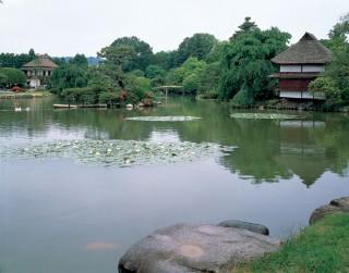 旧津山藩別邸庭園(衆楽園)の写真