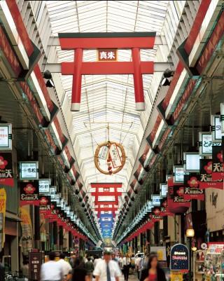 天神橋筋商店街の写真