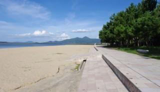 西の浜海水浴場の写真