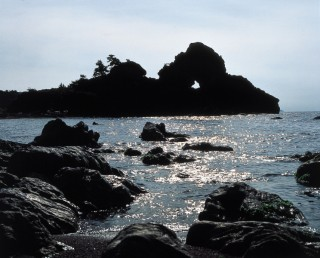 曽々木海岸の写真