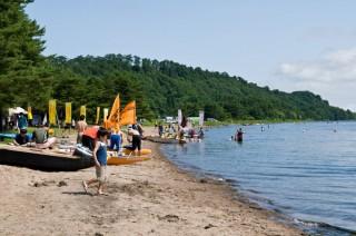 小川原湖の写真