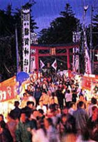 十五夜大祭の写真