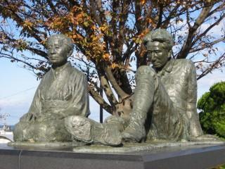 小説「津軽」の像記念館の写真