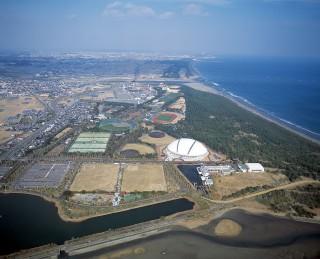KIRISHIMAハイビスカス陸上競技場(宮崎県総合運動公園陸上競技場)の写真