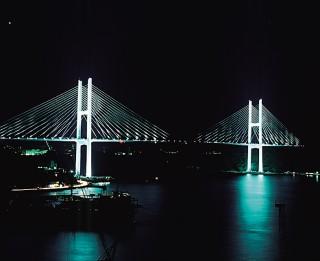 女神大橋の写真