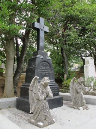 坂本国際墓地の写真