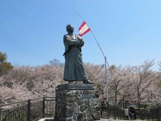坂本龍馬之像の写真