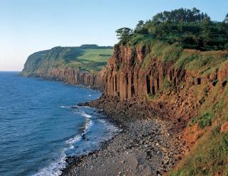 塩俵の断崖の写真