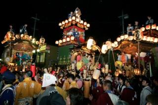 川越祭りの写真