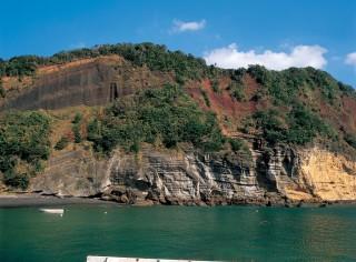 赤ダキ断崖の写真