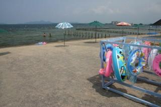 真野浜水泳場の写真