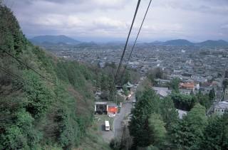 八幡山ロープウェーの写真