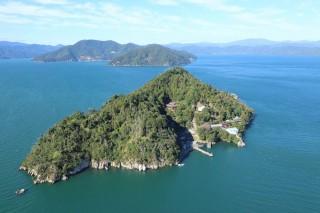 竹生島の写真