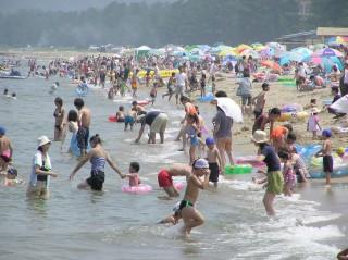 島尾海水浴場の写真