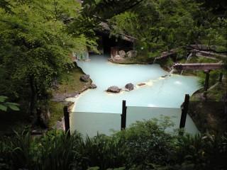 白骨温泉の写真