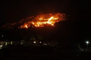 五山送り火の写真